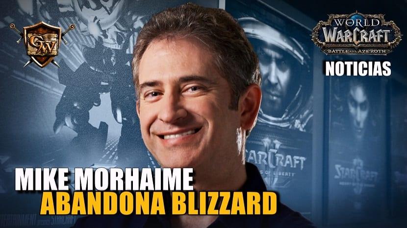 Mike Morhaime abandonará Blizzard en abril