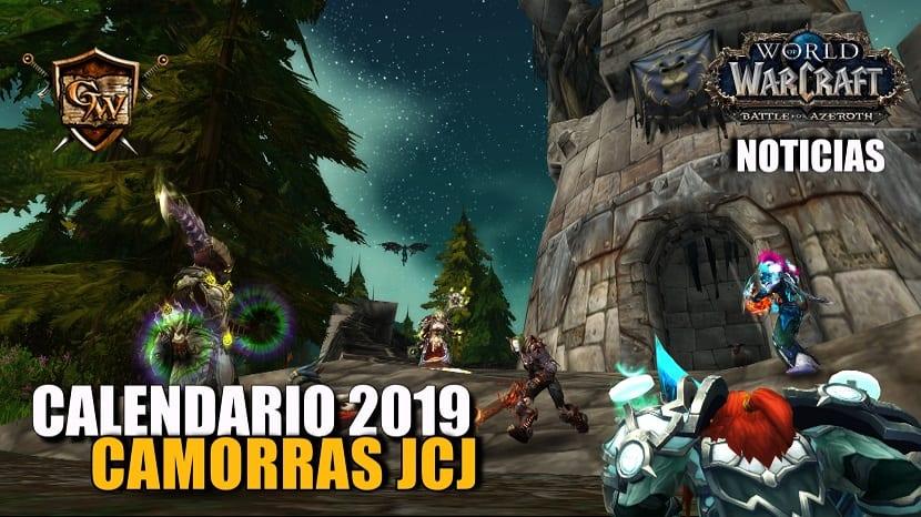 Calendario de Camorras JcJ de 2019