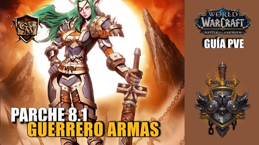 Guerrero armas PvE