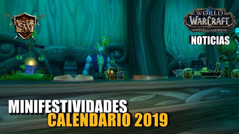 Calendario de minifestividades de 2019