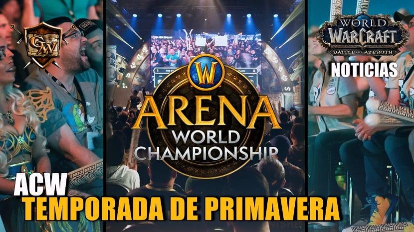 Guía para ver la temporada de primavera del Arena World Championship