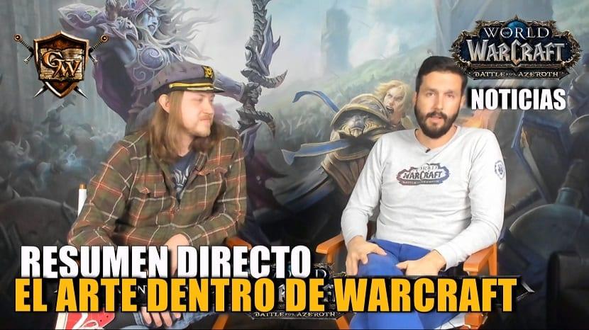 Resumen Dentro del arte de World of Warcraft