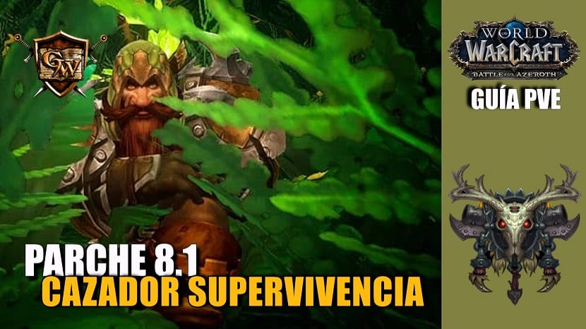 Cazador supervivencia PvE