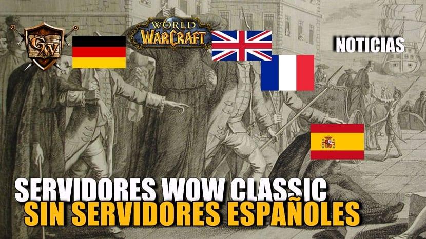 Actualización sobre la estructura de reinos europeos en WoW Classic
