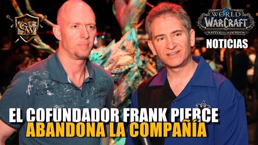 Frank Pearce, cofundador de Blizzard, abandona la compañía tras 28 años