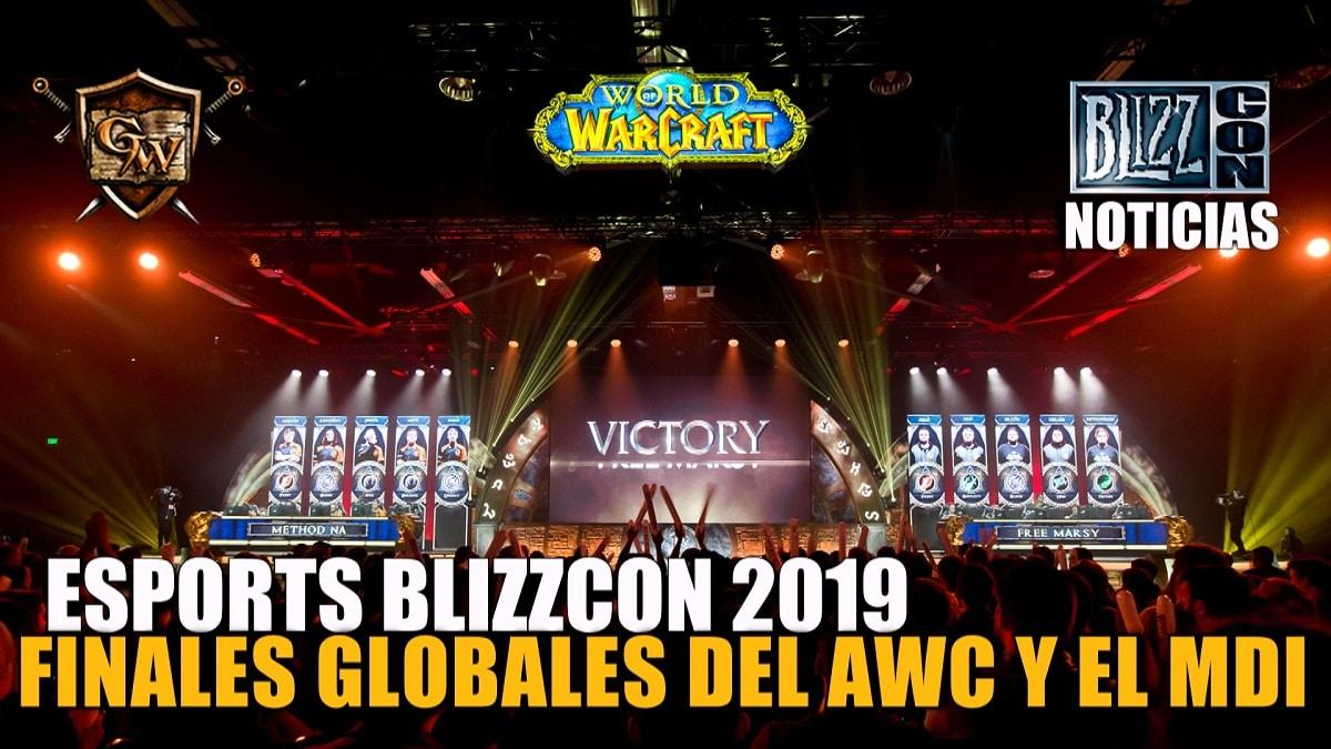 ¡No os perdáis las finales globales del AWC y el MDI en la BlizzCon!