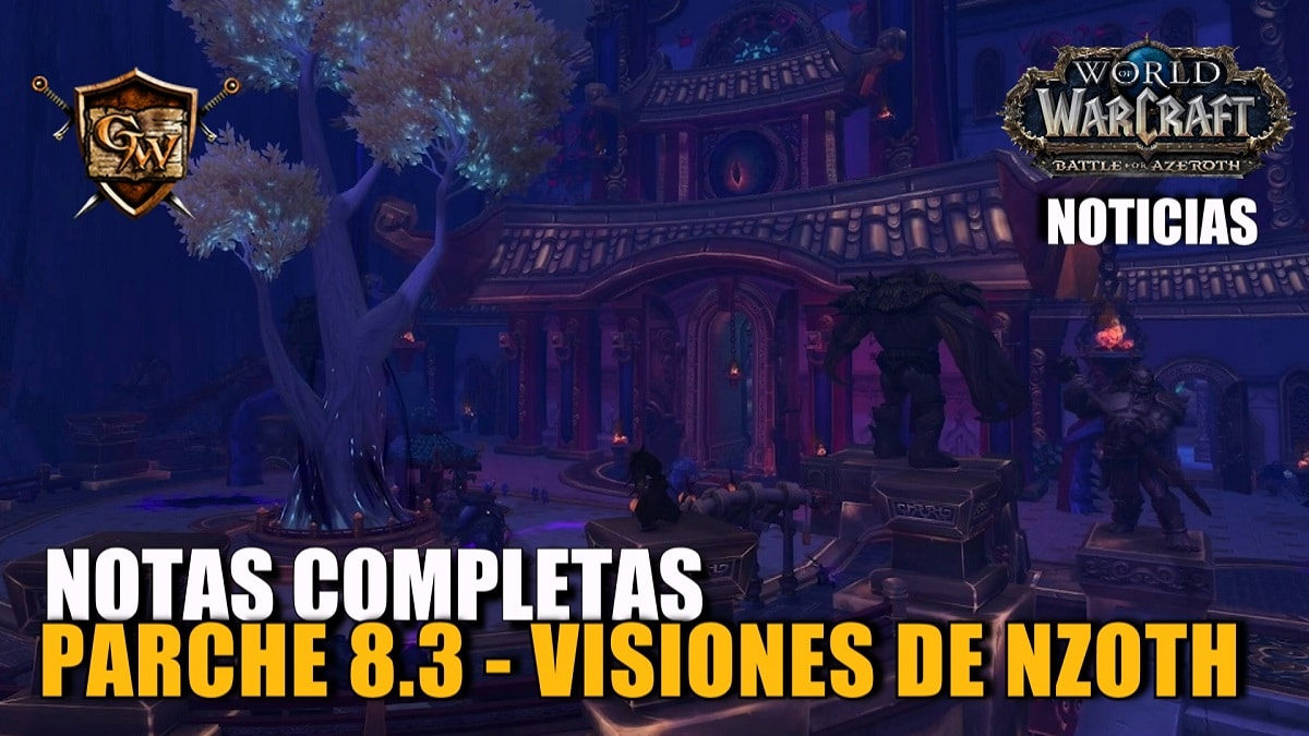 Notas de la actualización de contenido Visiones de N'Zoth