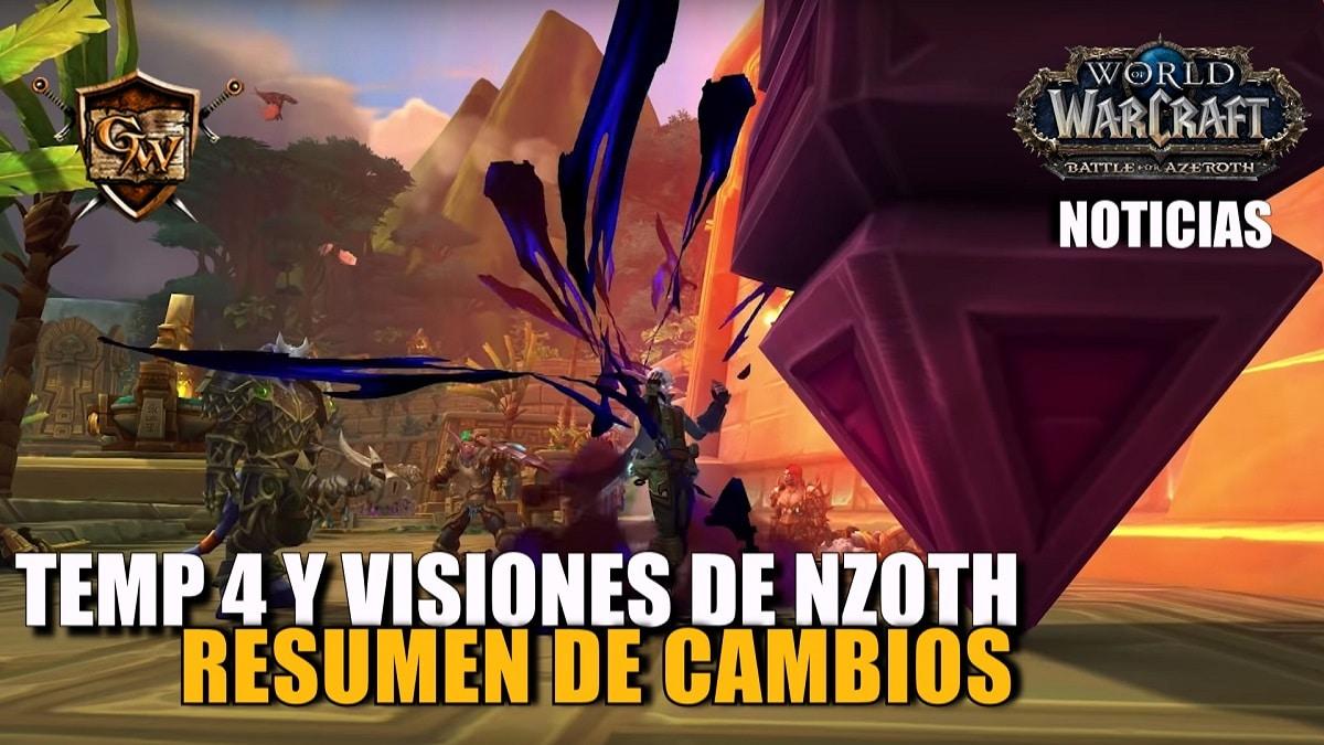 Cómo serán la temporada 4 y Visiones de N'Zoth
