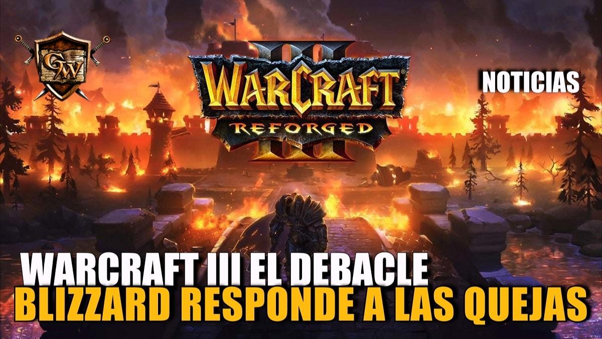Blizzard emite un comunicado a las quejas de Warcraft III: Reforged