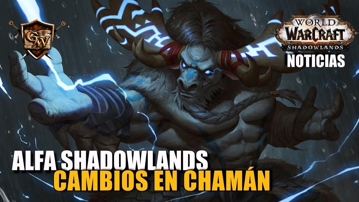 Cambios de Clase del Chamán en el Alfa Shadowlands