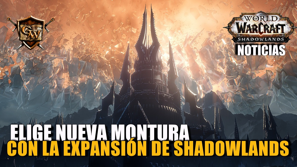 Elegid la próxima montura de Shadowlands
