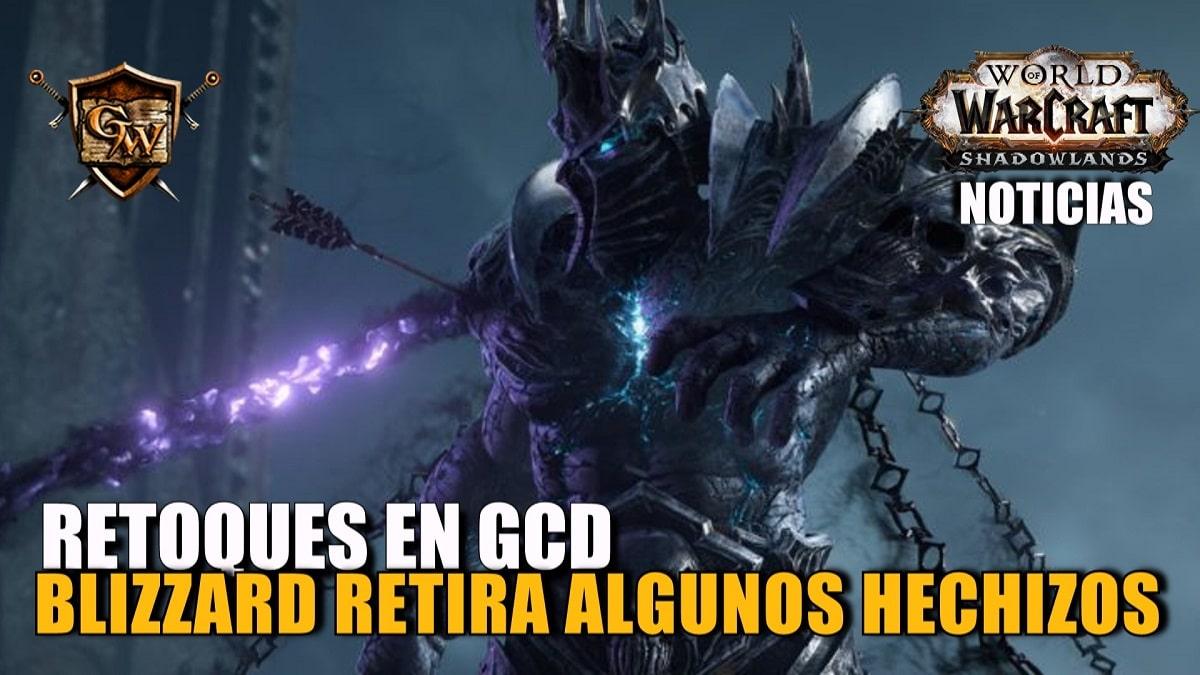 Blizzard retira algunos hechizos del Tiempo de reutilización global