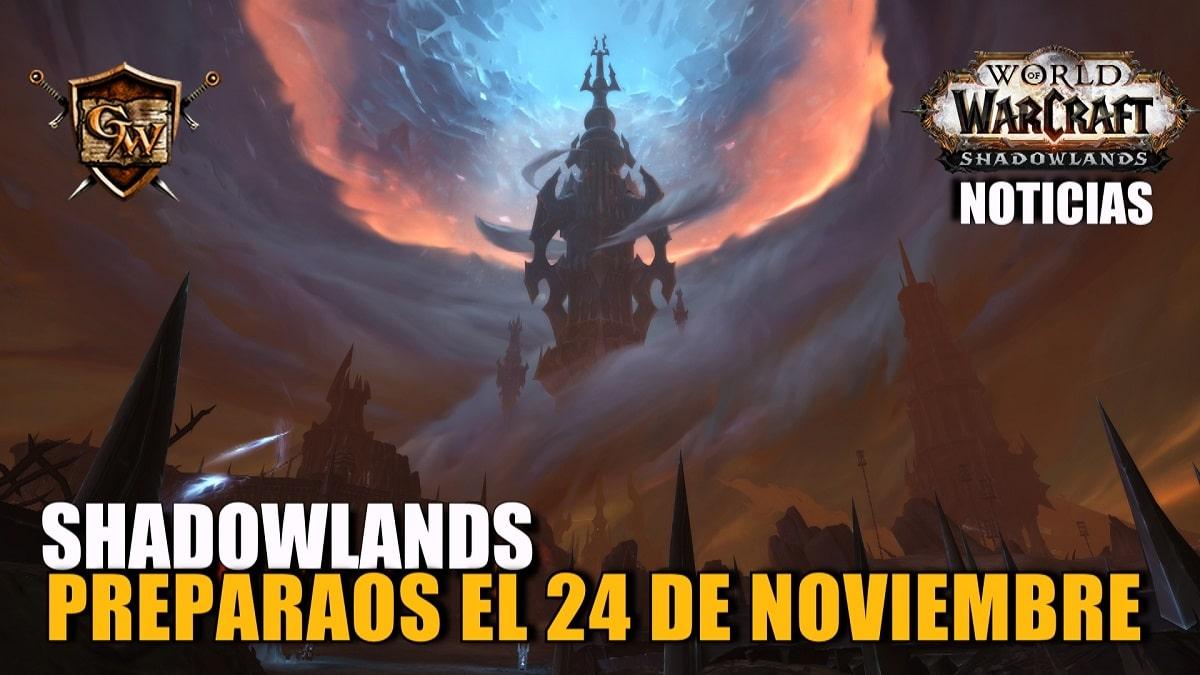 Shadowlands llega el 24 de noviembre