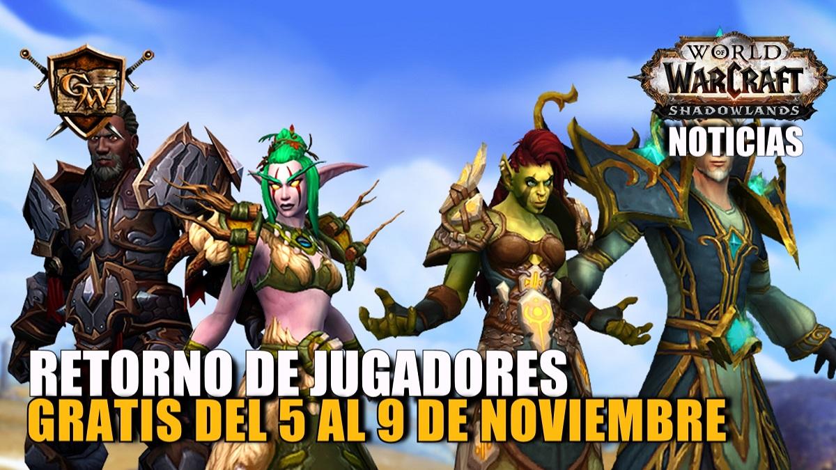 Uníos al fin de semana de retorno al juego del 5 al 9 de noviembre