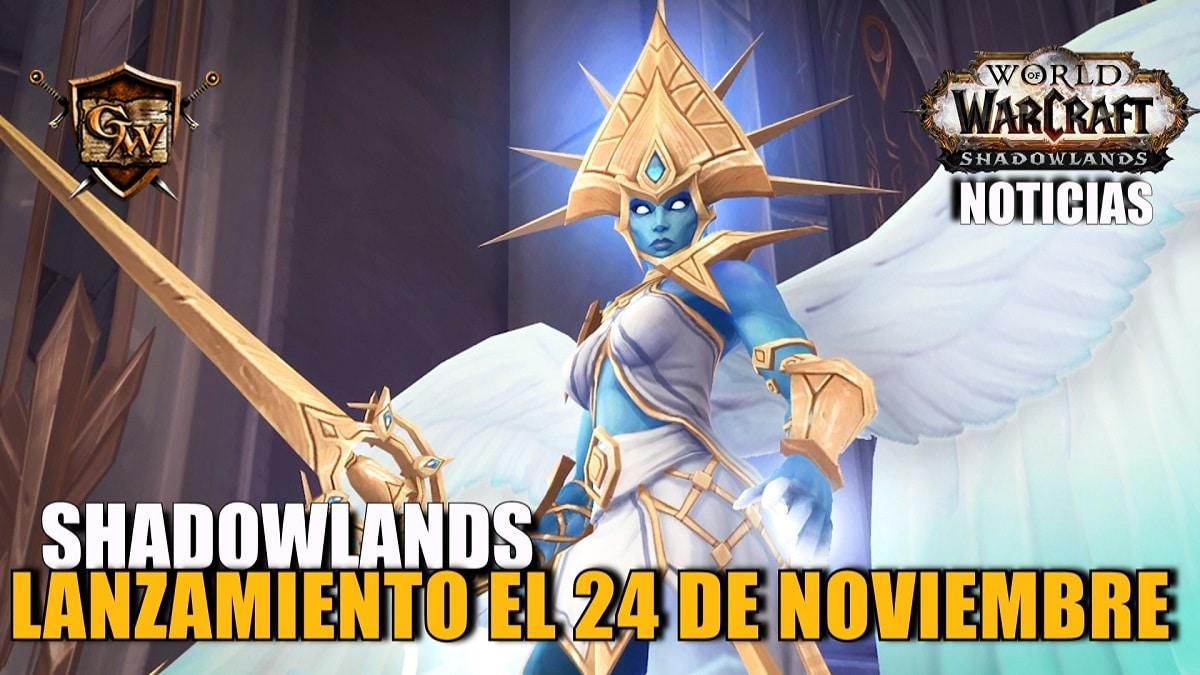 Enfrentaos al más allá: Shadowlands abre sus puertas el 24 de noviembre