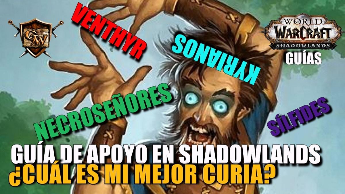 La mejor curia para tu especializacion en Shadowlands