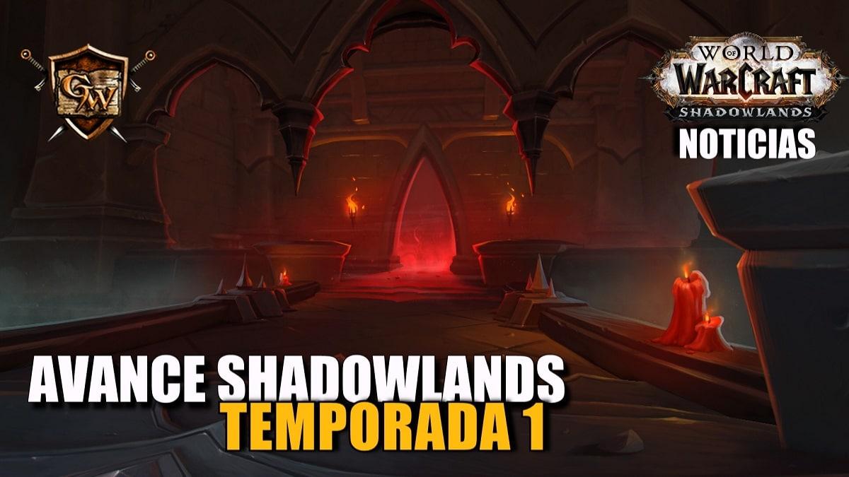 Avance de la temporada 1 de Shadowlands