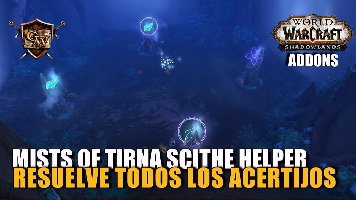 Resuelve los acertijos de Tirna Scithe con el addon Mists of Tirna Scithe Helper