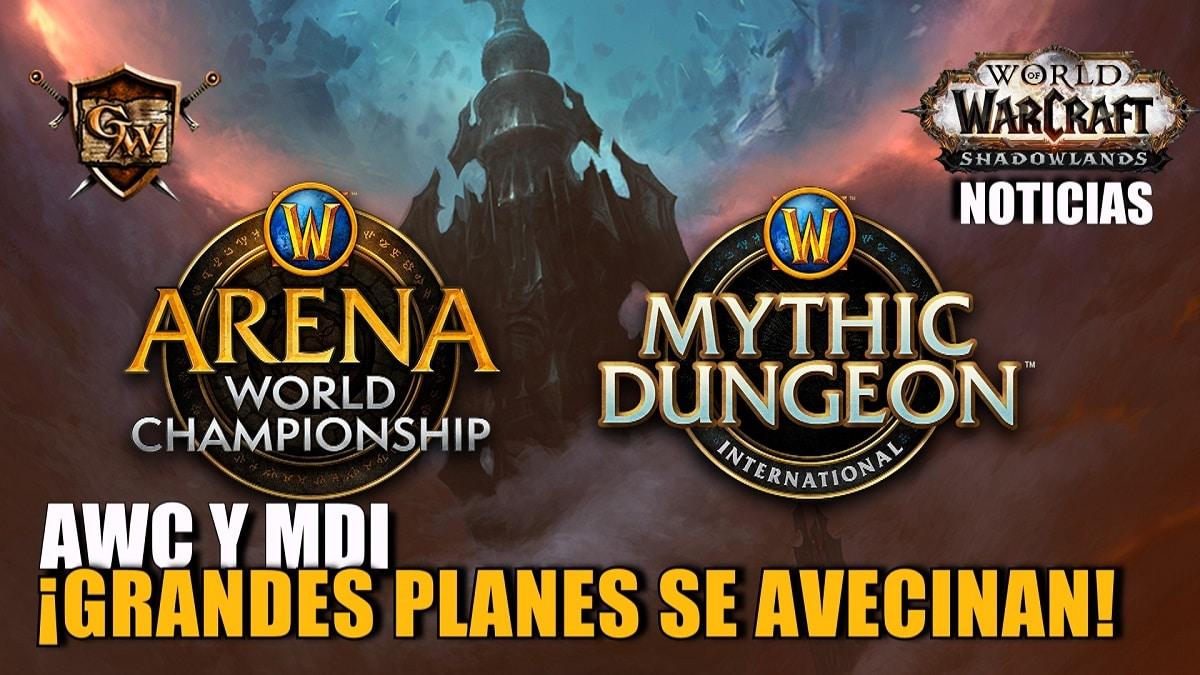 ¡Aquí están los planes para el Arena World Championship y el Mythic Dungeon International de 2021!