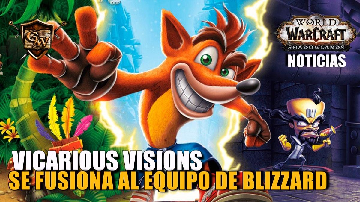 Vicarious Visions se fusiona con Blizzard
