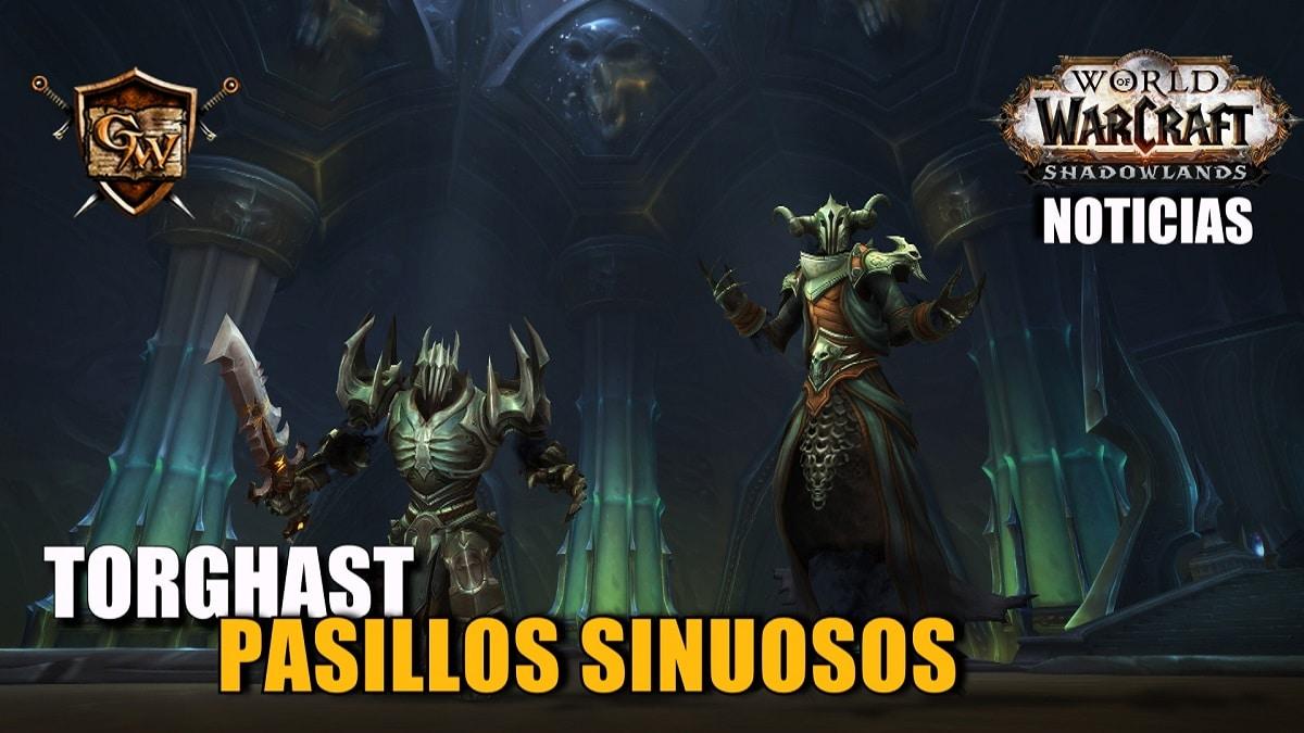 Enfrentaos a monstruos en los Pasillos Sinuosos de Torghast