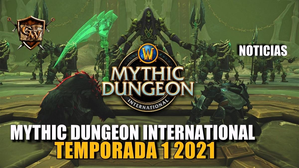 Mythic Dungeon International: ¡ya está aquí la temporada 1 de Shadowlands 2021!