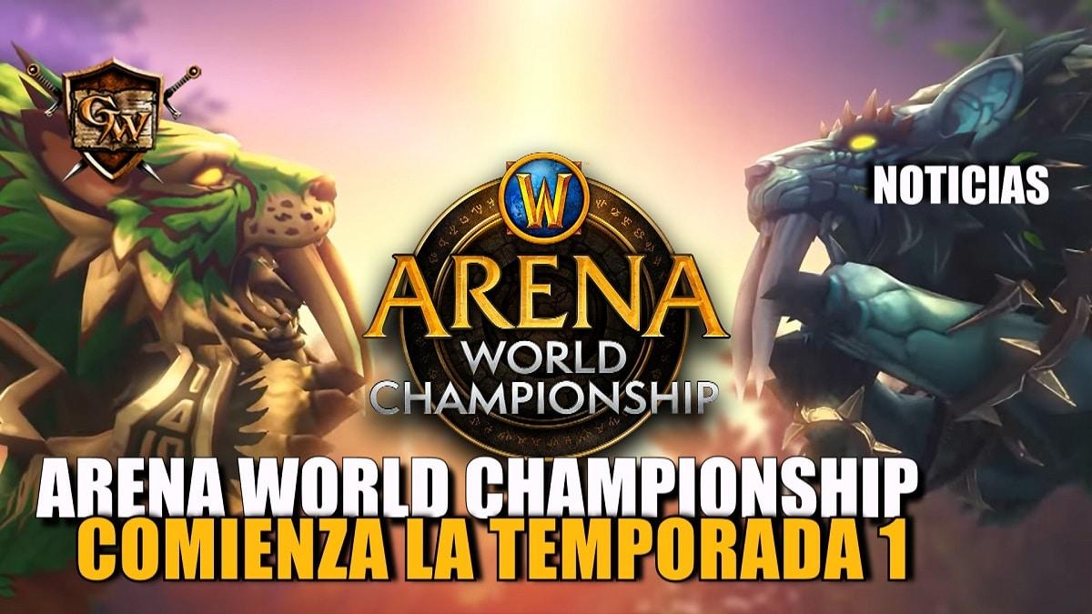 ¡Comienza la temporada 1 del Arena World Championship: Shadowlands 2021!