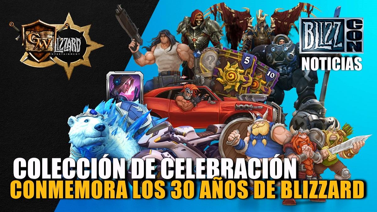 Conmemorad 30 años de Blizzard con la colección de celebración
