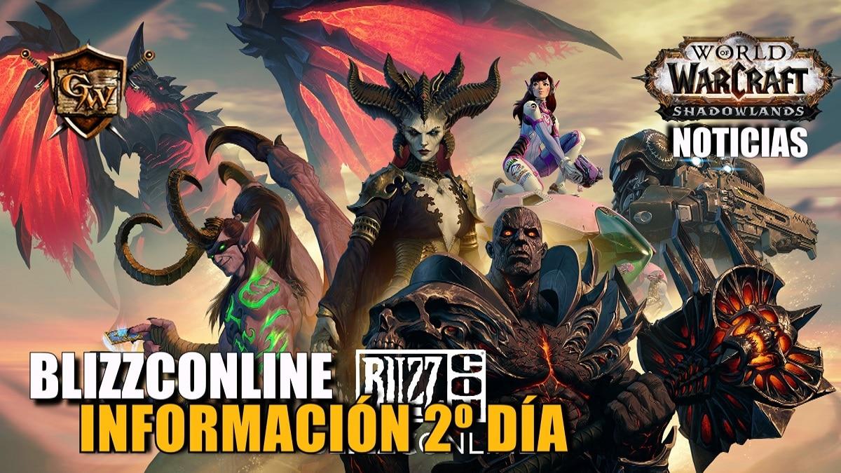 Manteneos al tanto de World of Warcraft en el segundo día de la BlizzConline