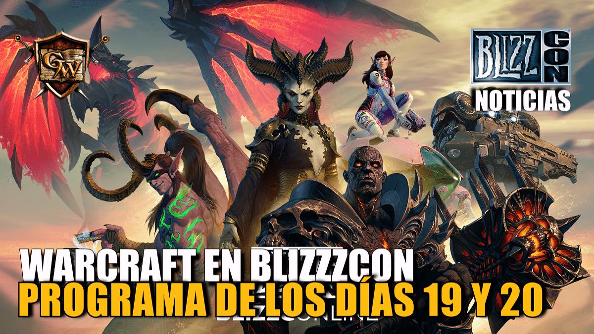 World of Warcraft en la BlizzConline el 19 y 20 de febrero